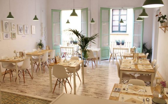 El Vergel Restaurant takes to the streets: first Eco-Terrace next to Madrid Río