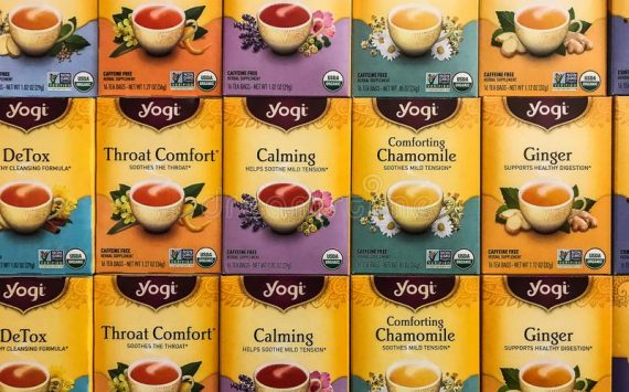 Free Yogi Tea Classic with El Vergel. Sold out!